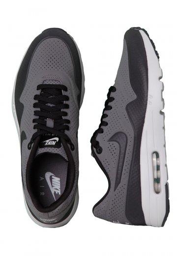 Nike Air Max 1 Ultra Moire Dark GreyBlackFtl Silver Shoes