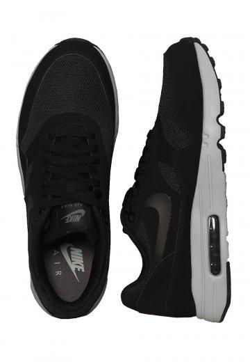 buy popular 24b47 38639 Nike - Air Max 1 Ultra 2.0 Essential Black Black Wolf Grey Dark Grey - Shoes  - Impericon.com Worldwide