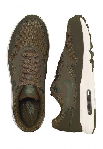 buy popular ad64f 1f540 Nike - Air Max 1 Ultra 2.0 Essential Medium Olive Legion Green Sail ...