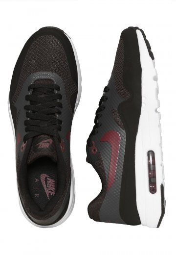 the latest 2fe9a 9ce5b Nike - Air Max 1 Ultra Essential Black Night Maroon Anthracite White - Shoes  - Impericon.com Worldwide