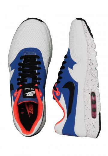 best authentic dba10 60677 Nike - Air Max 1 Ultra Essential White Black Varsity Royal Reflect Silver -  Shoes - Impericon.com UK