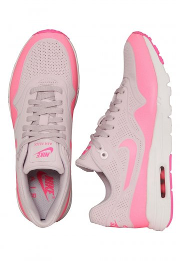 27ac2fd9af Nike - Air Max 1 Ultra Moire Bleached Lilac/Pink Blast/White - Girl Shoes -  Impericon.com Worldwide