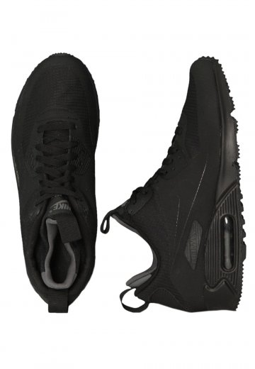 new style 77926 b929b Nike - Air Max 90 Mid Winter Black/Black - Shoes