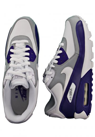 buy popular 98d95 332ee Nike - Air Max 90 SI White/Drenched Blue/Grey - Shoes
