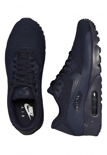 pas mal b45eb 2a740 Nike - Air Max 90 Ultra Moire Midnight Navy/Midnight Navy/White - Shoes