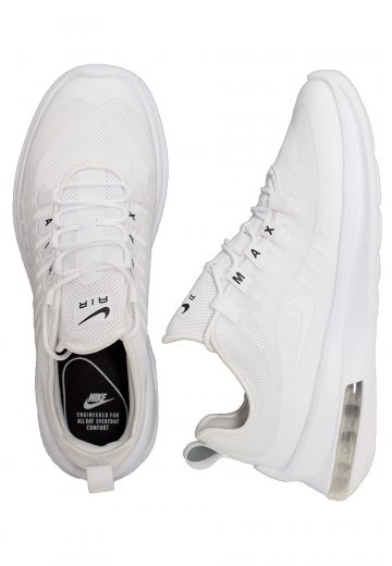Escéptico Comunista disparar  Nike - Air Max Axis White/White/Black - Girl Shoes - Fashion Shop -  Impericon.com UK