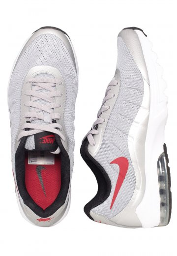 half off 7ebbb ae7d3 Nike - Air Max InvigorWolf Grey Varsity Red Black White - Shoes - Impericon.com  Worldwide