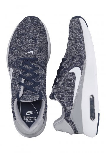 lowest price f9877 aae23 Nike - Air Max Modern Flyknit College Navy/White/Wolf Grey - Shoes