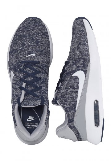 buy online 279da b7bd6 Nike - Air Max Modern Flyknit College Navy White Wolf Grey - Shoes -  Impericon.com UK