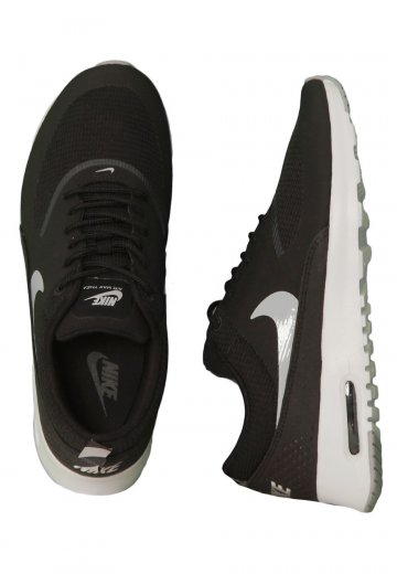 Nike - Air Max Thea Black/Wolf Grey/Anthracite White - Girl Shoes