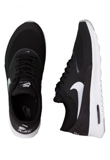 the best attitude 807db ae60c Nike - Air Max Thea Black Wolf Grey Anthracite White - Girl Shoes ...