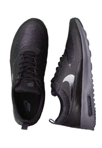 brand new ba6b3 bf3ee Nike - Air Max Thea Premium Black Black Anthracite - Girl Shoes -  Impericon.com Worldwide