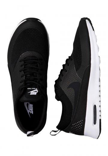 695e90930d152b Nike - Air Max Thea Black Black Geyser Grey - Girl Shoes - Impericon.com  Worldwide