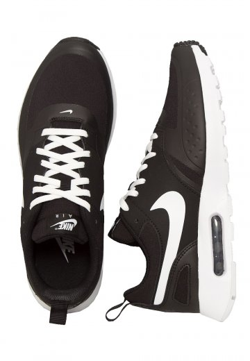 black and white air max shoes