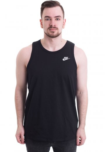 Nike - Club Embroidered Futura Black/White - Tank