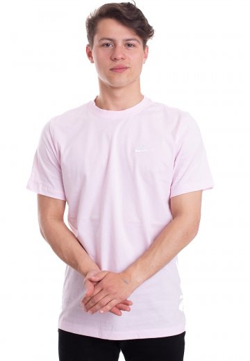 f77c7b6a Nike - Club Pink Foam/White/White - T-Shirt - Streetwear Shop -  Impericon.com Worldwide