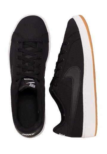 Nike - Court Royale Canvas Black/White/Gum/Light Brown - Shoes