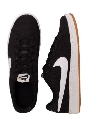 Nike Brown Blackwhitegumlight Royale Court Canvas Shoes wOPn08kX