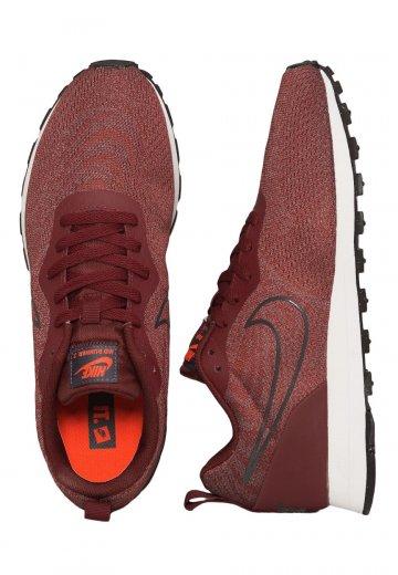 Nike - MD Runner 2 Mesh Dark Team Red/Dark Team Red/Dark Grey - Shoes
