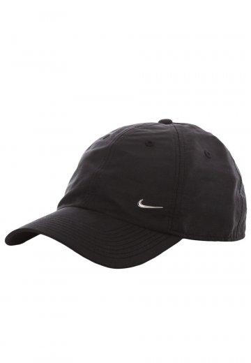 Nike - Metal Swoosh Logo Black Metallic Silver - Cap - Streetwear Shop -  Impericon.com AU d4545e5dbd