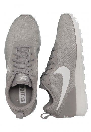 Nike - Nike Mid Runner 2 ENG Mesh Atmosphere Grey/White - Girl Shoes