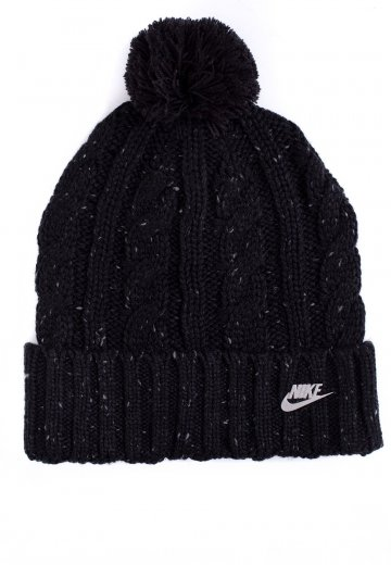 8a3758aa5be Nike - NSW Black Cool Grey Metallic Silver - Beanie - Streetwear Shop -  Impericon.com Worldwide