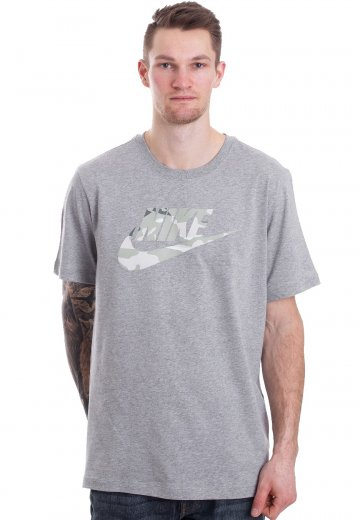 e2cbca16 Nike - NSW Camo 1 Dark Grey Heather/Spruce Fog - T-Shirt - Streetwear Shop  - Impericon.com UK