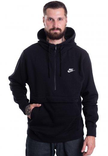 Nike NSW Club BlackWhite Hoodie