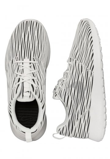 detailed look bdcca 45b2a Nike - Roshe One ENG White Wolf Grey Black - Girl Shoes - Impericon.com UK