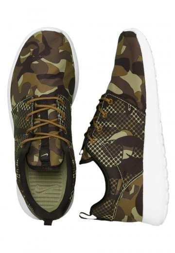 Nike Roshe One Print Alligator Green Camo | SneakerFiles