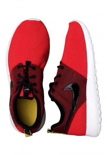 huge selection of b6ca5 10125 Nike - Roshe Run GS University Red Black Yellow White - Girl Shoes -  Impericon.com Worldwide