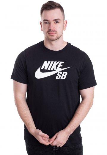 Nike - SB Dri-Fit Black/White - T-Shirt