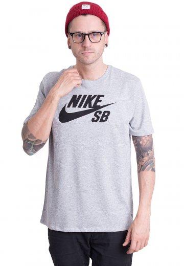 f00a9bcd59af Nike - SB Logo Dark Grey Heather Black - T-Shirt - Streetwear Shop -  Impericon.com Worldwide
