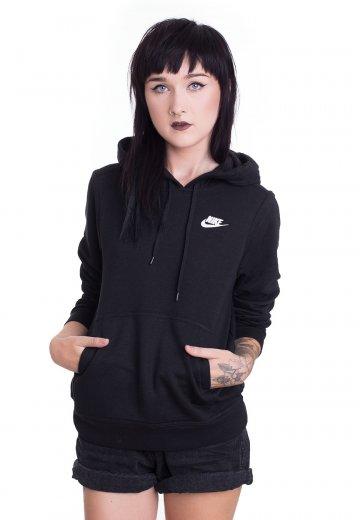 0a6021b615d0 Nike - Sportswear Black Black Black White - Hoodie - Streetwear Shop -  Impericon.com US