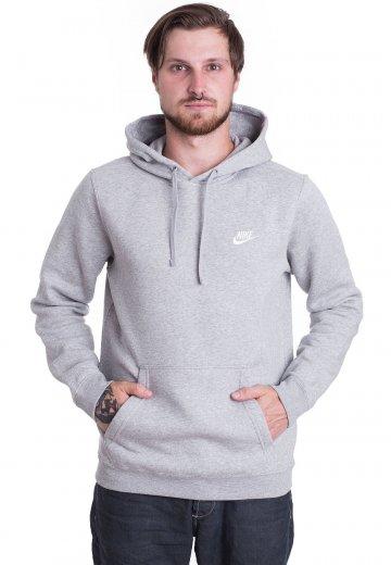Nike hoodie grey heather