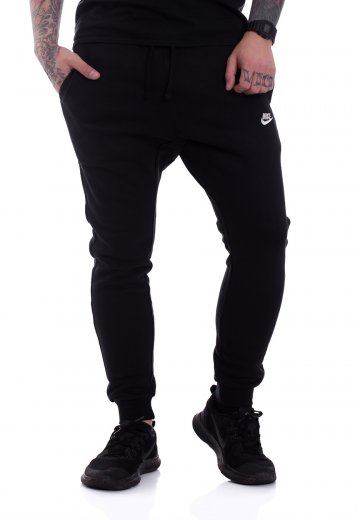 Nike - Sportswear Black/White - Sweat Pants