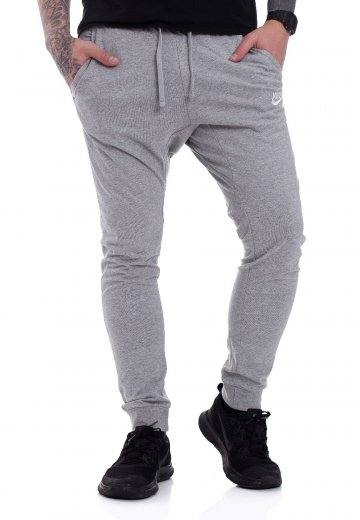 Nike - Sportswear Dark Grey Heather/White - Sweat Pants