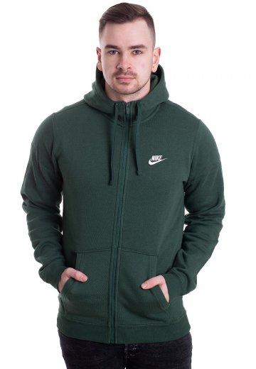 Nike - Sportswear Fir/Fir/White - Zipper