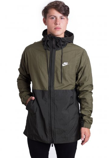 827b22bc1fda Nike - Sportswear Olive Canvas Sequoia White - Jacket - Streetwear Shop -  Impericon.com US