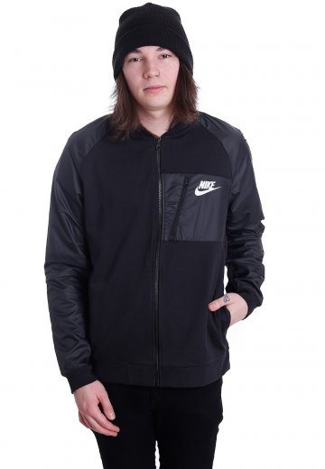 c3b3afd924 Nike - Sportswear Advance 15 Black Anthracite White - Jacket - Streetwear  Shop - Impericon.com UK