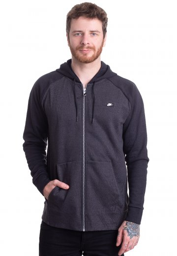 special price for half price suitable for men/women Nike - Sportswear Optic Fleece Black/Heather - Zipper