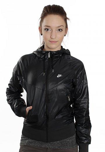 6821d5e07ae Nike - The Windrunner Black/White - Girl Jacket - Streetwear Shop -  Impericon.com US