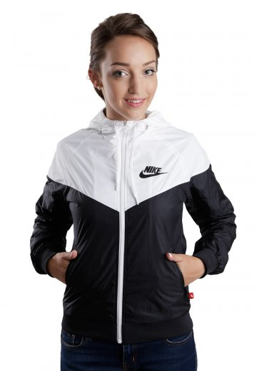 dfd5cff1ff Nike - The Windrunner Black White Black - Girl Jacket - Streetwear Shop -  Impericon.com AU