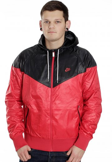 3d78847131 Nike - The Windrunner Diablo Red Black - Windbreaker - Streetwear Shop -  Impericon.com UK
