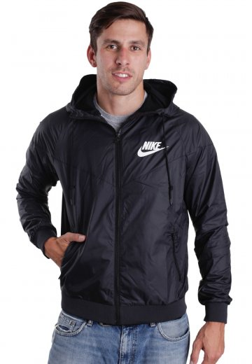 75c368a05c Nike - Windrunner Black Black White - Windbreaker - Streetwear Shop -  Impericon.com US