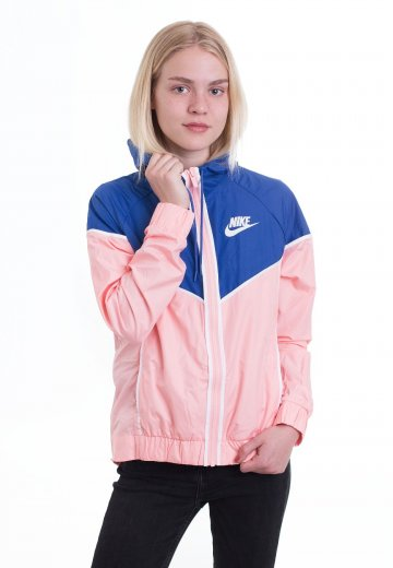 a9813213d40 Nike - Windrunner Bleached Coral Game Royal White - Windbreaker -  Streetwear Shop - Impericon.com Worldwide