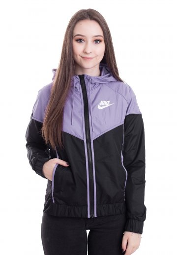 Nike Windrunner BlackSpace PurpleWhite Windbreaker