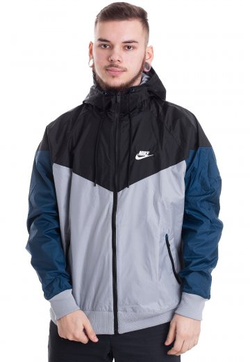 3b0ad2bbd8 Nike - Windrunner Obsidian Mist Black Blue Force Sail - Windbreaker - Streetwear  Shop - Impericon.com UK