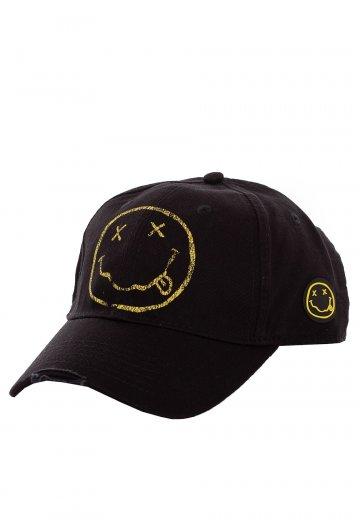 5856aa5b Nirvana - Smiley - Cap - Official Rock Merchandise Shop - Impericon.com  Worldwide