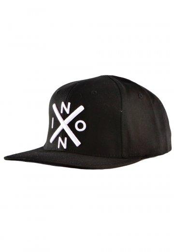 0eddd98521c02 Nixon - Exchange Starter Black White Snapback - Cap - Impericon.com AU